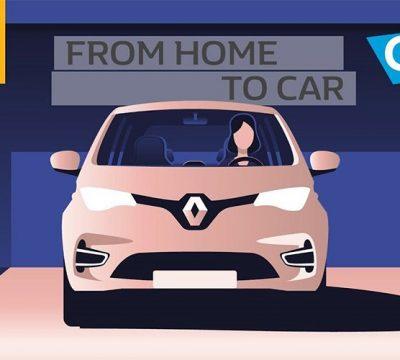 ارتباط خودرو و خانه هوشمند با فناوری رنو و اتودو